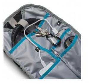 Backpack Active 14-15.6'' Black/Blue whit HDF