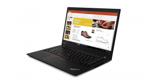 Ultrabook ThinkPad T490s 20NX003UPB W10Pro i7-8565U/16GB/512GB/INT/14.0 FHD/Black/3YRS OS