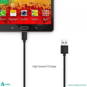CB-D9 Black szybki kabel Quick Charge micro USB-USB   2m   5A   480 Mbps