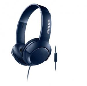 Słuchawki z mikrofonem SHL3075BL niebieski SHL3075BL