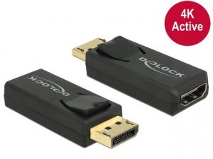 Adapter Displayport 1.2(M)->HDMI(F) 4K Active
