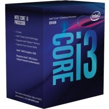 Procesor Core i3-8100 BOX 3.60GHz, LGA1151