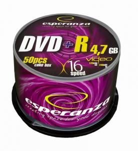 DVD+R 4,7GB x16 - Cake Box 50