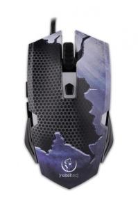 Gamingowa mysz optyczna, HORNET, 3 kolory podświetlania do 2400DPI