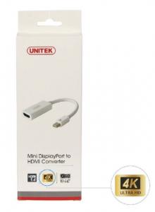 Adapter mini DisplayPort- HDMI 4K; Y-6331