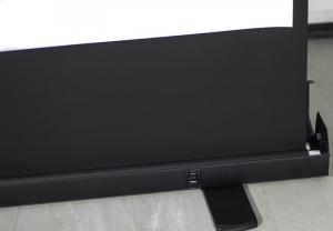 Ekran Projekcyjny Podłogowy 167x200cm, proj. 162x122cm, 80 (4:3) Matt White