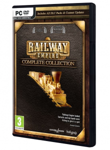 Gra PC Railway Empire Complete Collection