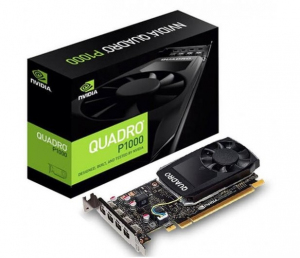 Karta graficzna ThinkStation Nvidia Quadro P1000 4GB GDDR5 Mini DP x 4 z ramką nisko-profilową 4X60N86660 (P320,P330)