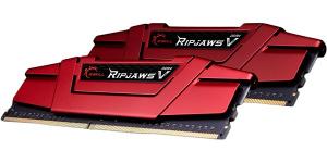 DDR4 8GB (2x4GB) RipjawsV 2400MHz CL15 XMP2 Red