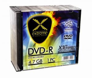 DVD-R 4,7 GB x16 - Slim 10