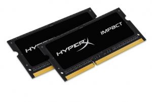 DDR3 SODIMM IMPACT BLACK 16GB/1600 (2*8GB) CL9 1.35V