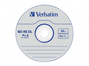 BD-RE 50GB x2 (5 Jewel Case)
