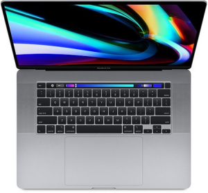 MacBook Pro 16 Touch Bar: i9 2.4GHz/32GB/2TB/R5500M - Space Gray MVVK2ZE/A/P1/R1/D1/G1