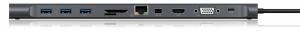Stacja dokująca IB-DK2102-C USB TYPE C