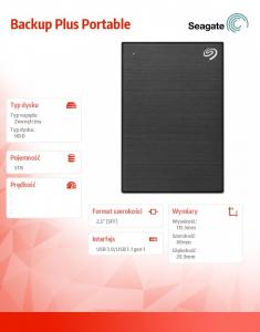 Backup Plus 5TB 2,5 STHP5000400 Black