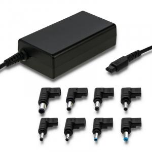 Uniwersalny zasilacz sieciowy do laptopa 65W | 8 wtyczek