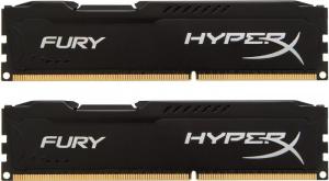 DDR3 Fury 16GB/ 1600 (2*8GB) CL10 BLACK