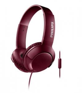 Słuchawki z mikrofonem SHL3075RD czerwone SHL3075RD