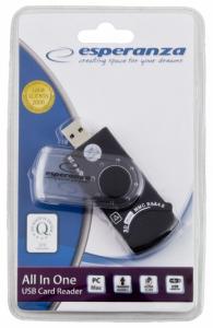 Czytnik kart pamięci All-in-one + SIM EA118 USB 2.0