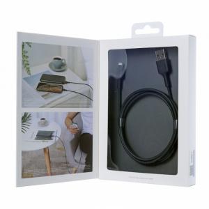 CB-BAL1 Black wzmocniony ultraszybki kabel Quick Charge Lightning-USB   1.2m   certyfikat MFi Apple