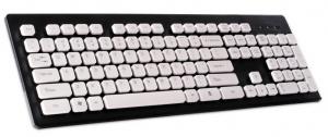 Inpire Pełnowymiarowa klawiatura multimedialna, klawisze grzybkowe