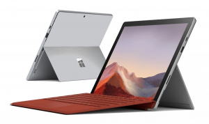 Surface Pro 7 Platinium 128GB/i3-1005G1/4GB/12.3 Commercial PVP-00003