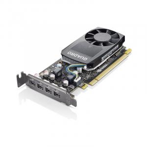 Karta graficzna ThinkStation Nvidia Quadro P620 2 GB GDDR5 Mini DPx4 z wspornikiem niskoprofilowym