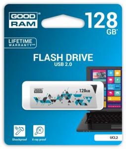 CLICK 128GB USB2.0 WHITE