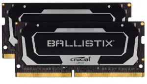 Pamięć DDR4 SODIMM Ballistix 16/2666 (2*8GB) Czarna