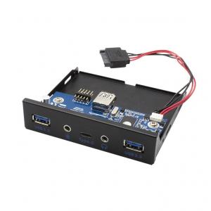 Panel USB USB-C / USB 3.0 przedni wewnętrzny z audio