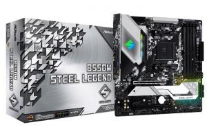 Płyta główna B550M Steel Legend AM4 4DDR4 HDMI/DP M.2 mATX