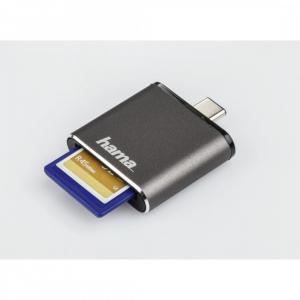 Czytnik kart SD UHS-II USB 3.1 TYP-C OTG SD szary