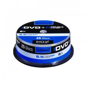 Płyty DVD+R 8x 8,5GB Double Layer (25 Cake)
