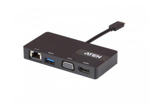 MINI STACJA DOKUJĄCA USB-C ATEN UH3232