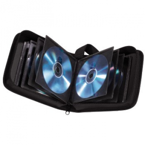 CD WALLET 32 CD CZARNY
