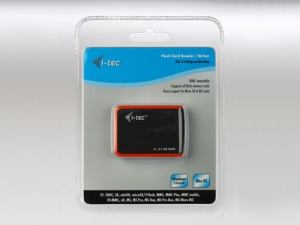USB 2.0 All-in-On e Int.Card Reader black