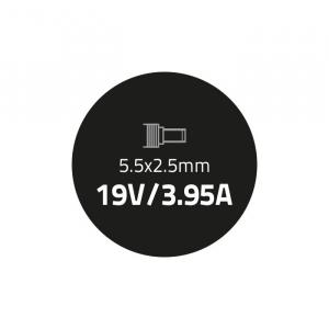 Zasilacz do HP Toshiba 75W | 19V | 3.95A | 5.5*2.5