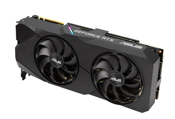 Karta graficzna GeForce DUAL RTX 2080 SUPER EVO V2 OC 8GB GDDR6 256bit 3DP/HDMI