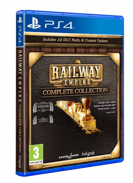 Gra PS4 Railway Empire Complete Collection
