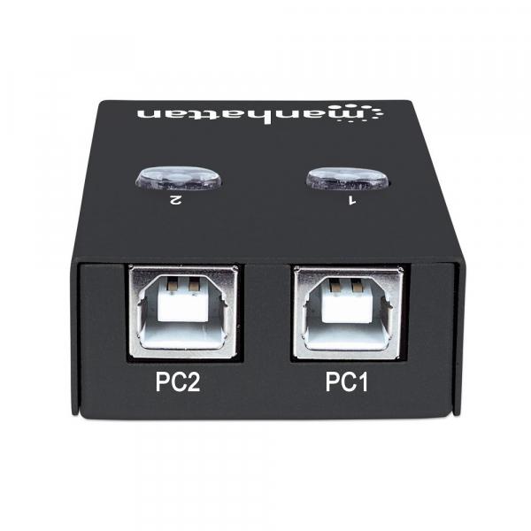 Przełącznik automatyczny Hi-Speed USB 2.0 2 PC - 1 USB